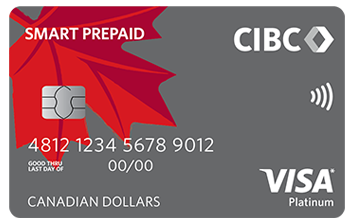 Image of Canadian English prepaid card