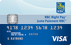 RBC Right Pay Card