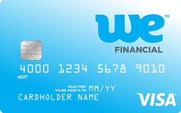 WE Financial Prepaid Card