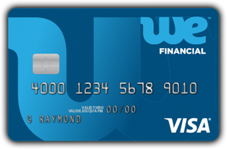 We Financial Visa card